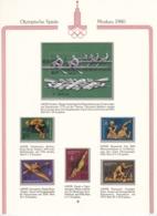 Sowjetunion - 1978 - Michel Nr. 4707/4711+Block 127 - Postfrisch - 1923-1991 UdSSR