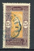 DAHOMEY RF - T. COURANT - N° Yvert 63 Obli. - Usati