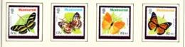 MONTSERRAT - 1981 Butterflies Set Unmounted/Never Hinged Mint - Montserrat