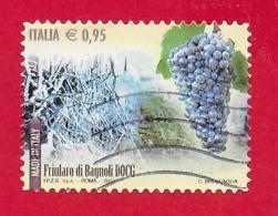 ITALIA REPUBBLICA USATO - 2015 - Made In Italy Vini DOCG - Friularo Di Bagnoli -  € 0,95 - S. 3619 - 2011-...: Usati