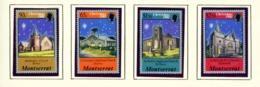 MONTSERRAT - 1981 Christmas Set Unmounted/Never Hinged Mint - Montserrat