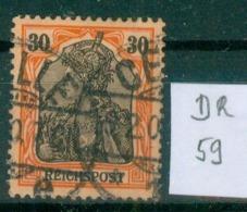 DR 1900  MiNr. 59     O / Used  (L790) - Alemania