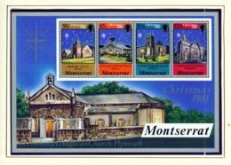MONTSERRAT - 1981 Christmas Miniature Sheet Unmounted/Never Hinged Mint - Montserrat