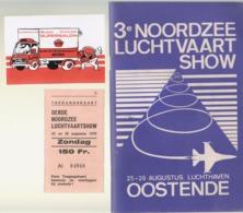 Oostende   Noordzee Luchtvaart Show   1979 - Programmes