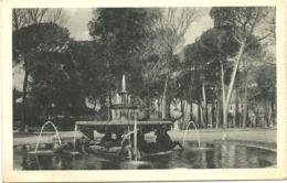 Roma - Villa Borghese - Fontana Dei Cavalli Marini - Parks & Gardens