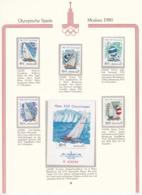 Sowjetunion - 1978 - Michel Nr. 4781/4785 + Block 133 - Postfrisch - 1923-1991 UdSSR