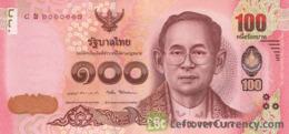 THAILAND P. 120 100 B 2015 UNC - Thailand