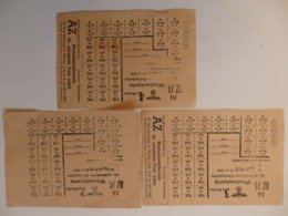 Feuillet De Rationnement Allemand ? - 1939-45