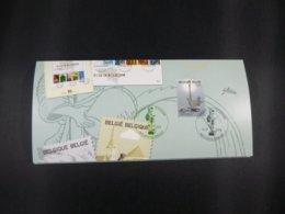 """BELG.2003 3197 FDC (Ronse/Renaix) Op/sur :"""" Invitatie Voorstelling Reeks Toerisme / Invitation Première Serie Tourisme """" - FDC"""