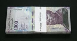 VENEZUELA - BUNDLE LOT Of 100 Notes - 1000 Bolivares 2017 - P 95b P95b (UNC) - Venezuela
