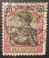 N°1653B TIMBRE DEUTSCHES REICH OBLITERE AVEC SIGNATURE GEPRUFT - Gebraucht