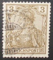 N°1655B TIMBRE DEUTSCHES REICH OBLITERE AVEC SIGNATURE GEPRUFT - Gebraucht