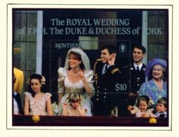 MONTSERRAT - 1986 Royal Wedding Miniature Sheet Unmounted/Never Hinged Mint - Montserrat