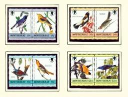 MONTSERRAT - 1985 Audubon Bird Paintings Set Unmounted/Never Hinged Mint - Montserrat