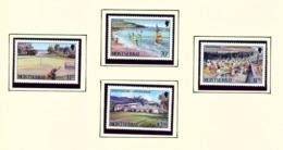 MONTSERRAT - 1986 Tourism Set Unmounted/Never Hinged Mint - Montserrat