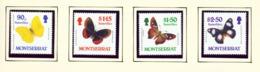 MONTSERRAT - 1987 Butterflies Set Unmounted/Never Hinged Mint - Montserrat