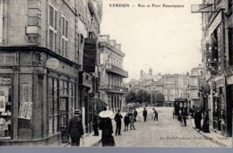 VERDUN  -  Rue Et Pont Beaurepaire  -  Animation - Verdun