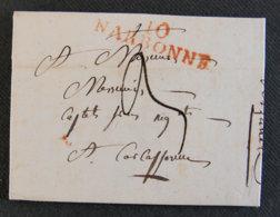 FRANCE - LET 03 - LETTRE DE 1818 - Postmark Collection (Covers)