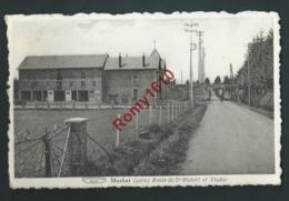 MORHET (gare) Vaux - Sur - Sure. Route De ST. Hubert Et Viaduc.  2 Scans. - Vaux-sur-Sûre