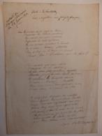 Lettre De Louis Napoléon Aux Français. Extrait De L'argus Soissonnais. - 1800 – 1899