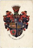 STEMMA - Studentika Wappen Couleurkarte Der Urburschenschaft Um 1820 EHRE FREIHEIT VATERLAND - Vedi Retro - Scuole