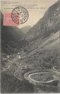 65 - 3. CAUTERETS - Route Du Pont D'Espagne - Etablissement De Mauhourat Et St-Sauveur Joli Cachet A Date - Cauterets