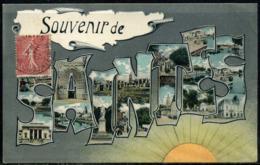 Cpa  Saintes  Carte Multivues - Saintes