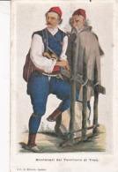 MONTANARI DEL TERRITORIO DI TRAU / RARE + - Postkaarten