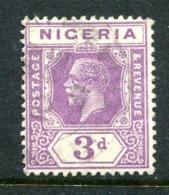 Nigeria 1921-32 KGV - Wmk. Mult. Script CA - 3d Violet - Die II - Used (SG 22a) - Nigeria (...-1960)