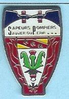 @@ Sapeurs Pompiers Sauver Ou Périr Médaille @@pom130b - Brandweerman