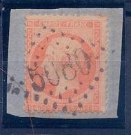 ALEXANDRIE - 23 NAPOLEON 40C SUR FRAGMENT CACHET GC 5080 ALEXANDRIE COTE 15 EUR - Brieven En Documenten