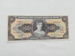 BRASILE 50 CRUZEIROS - Brésil