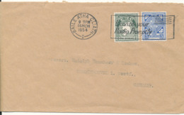 Ireland Cover Sent To Denmark 16-3-1954 (License Your Radio Promptly) - Covers & Documents