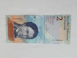VENEZUELA 2 BOLIVARES 2007 - Venezuela