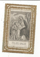 Image Religieuse , Pieuse , Dentelée , 2 Scans - Images Religieuses