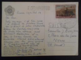 Urss ,carte De Mosçou 957 Pour Nyon - Covers & Documents