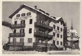 MOENA-TRENTO-CARTOLINA VERA FOTOGRAFIA-SCUOLA ALPINA GUARDIA DI P.S-VIAGGIATA IL 22-11-1957 - Trento