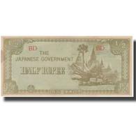 Billet, Birmanie, 1/2 Rupee, Undated (1942), KM:13b, SPL - Myanmar