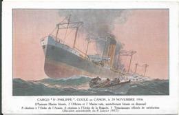 Cargo Saint  Philippe Coulé En 1916 - Commercio