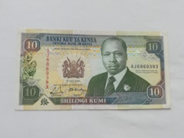 KENIA 10 SHILINGI KUMI 1990 - Kenya