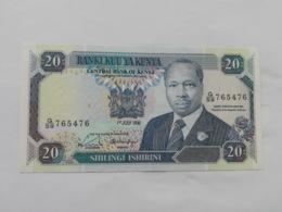 KENIA 20 SHILINGI  1990 - Kenia