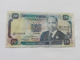 KENIA 20 SHILINGI  1991 - Kenia