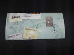 """BELG.2003 3198 FDC (Ronse) Op/sur :"""" Invitatie Voorstelling Reeks Toerisme / Invitation Première Serie Tourisme """" - FDC"""