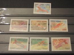 VIETNAM - 1991 CROSTACEI 7  VALORI - NUOVI(++) - Vietnam