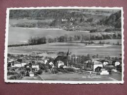 CPA CPSM PHOTO SUISSE Canton NEUCHATEL LE LANDERON  Vue D'ensemble  Aérienne 1955 RARE PLAN ? - NE Neuenburg