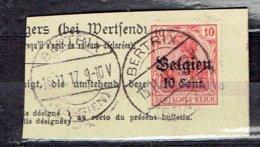 OC 14 - Bertrix-Belgien Le 15-11-1917 - Guerre 14-18