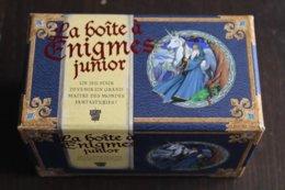 JEU DE SOCIETE - La Boîte à énigmes Junior - Edition Marabout 2009 - Jeux De Société