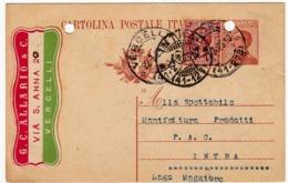 G. C. ALLARIO & C. - VERCELLI - 1925 - CARTOLINA POSTALE - Vedi Retro - Formato Piccolo - Commercio