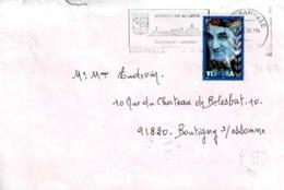 TP N° 3192 Seul Sur Enveloppe De Granville - Poststempel (Briefe)