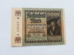 GERMANIA 5000 MARK 1922 - [ 3] 1918-1933 : République De Weimar